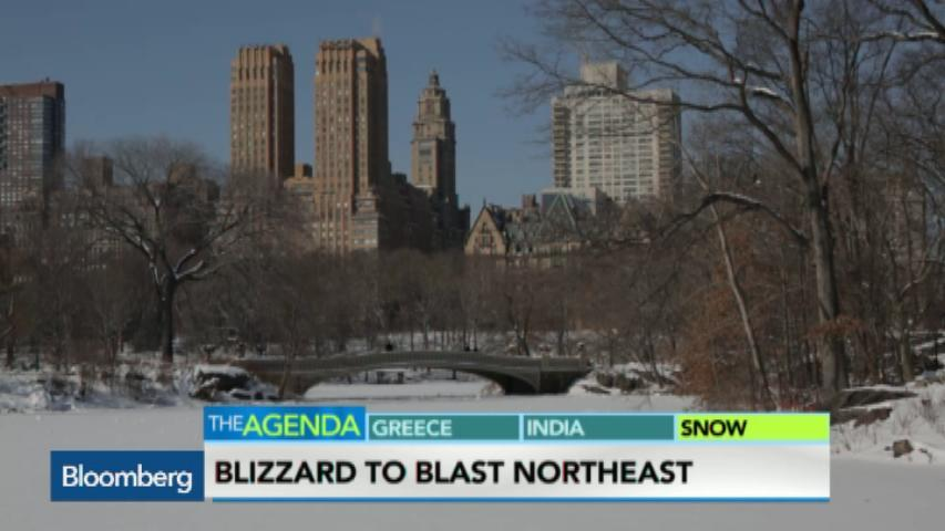 Blizzard to Blast Northeast