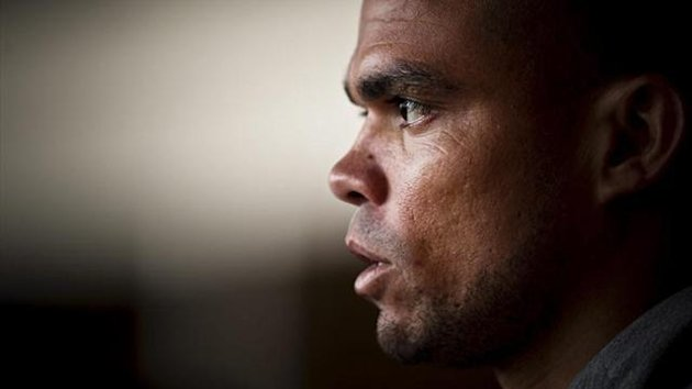 El central de Real Madrid Pepe