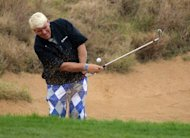 "Colourful American John Daly, pictured in October 2012, has tipped 13-time Asian Tour winner Thongchai Jaidee to defy his ranking outside the world's top 100 by claiming his first Major ""soon"""