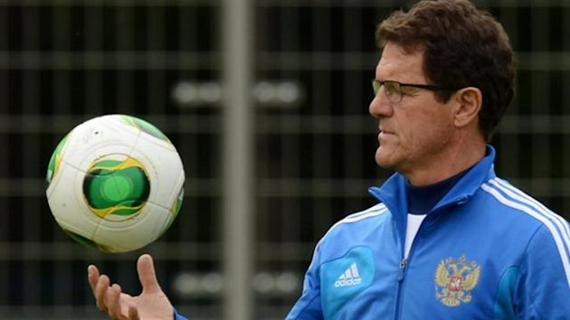 Fabio Capello and the ball