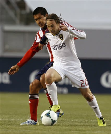 Grabavoy powers RSL to 4-1 win over Chivas