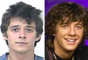 Matthew Underwood (mug shot, left; Zoey 101, right)  | Photo Credits: Port St. Lucie police; Nickelodeon