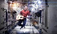 Astronaut Ends Space Mission With Bowie Classic