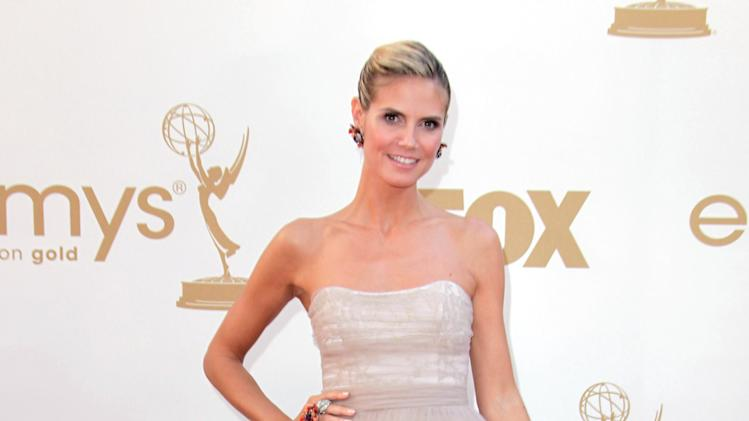 Heidi Klum Rocks 'Project Runway' Designs - Christian Siriano: Season 4 winner
