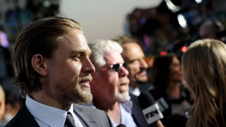 "Premiere Of FX's ""Sons Of Anarchy"" Season 6 - Red Carpet"