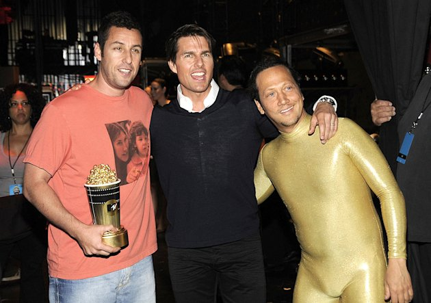 Sandler Cruise Schneider MTV Movie Aw