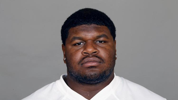 FILE - In this 2012 file photo, Josh Brent of the Dallas Cowboys NFL football team is shown. Brent is facing an intoxication manslaughter charge after a one-vehicle accident that killed teammate Jerry Brown, a member of the team's practice squad. Irving police spokesman John Argumaniz said the accident happened about 2:20 a.m. in Saturday, Dec. 7, 2012, in the Dallas suburb. (AP Photo/File)