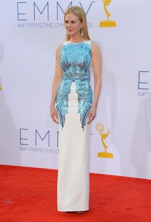 Nicole Kidman arrives at the 64th Annual Primetime Emmy Awards at Nokia Theatre L.A. Live in Los Angeles on September 23, 2012 -- Getty Images