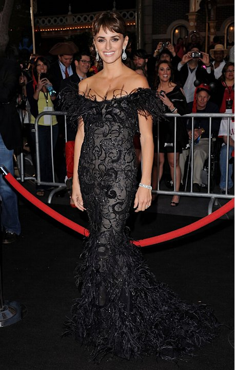 Pirates of the Caribbean On Stranger Tides LA Premiere 2011 Penelope Cruz