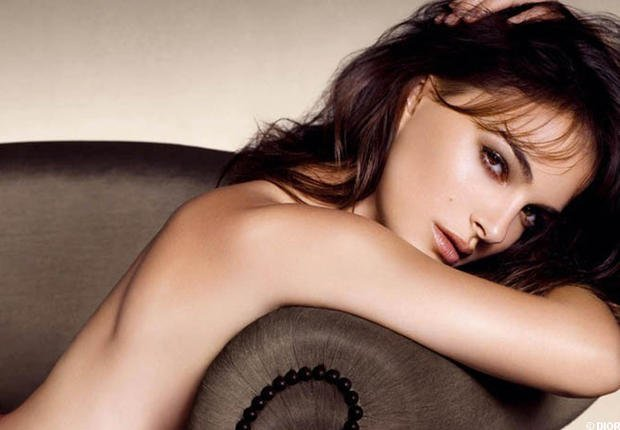 Natalie Portman, nude pour Dior