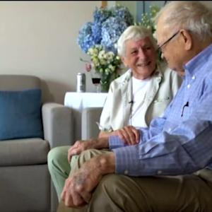 93-Year-Old WW II Vet Reunites with Wartime Girlfriend After 70 Years