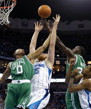 Hornets drop Celtics to 0-3 with 97-78 victory