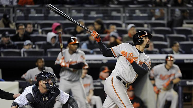 Orioles rally in 9th for win against Yankees