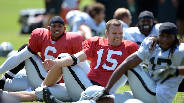 NFL: Oakland Raiders-Training Camp