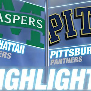 Manhattan vs Pittsburgh | 2014-15 ACC Men's Basketball Highlights