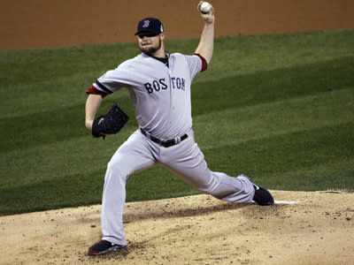 Lester Shines As Red Sox Top Cards