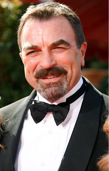 Tom Selleck arrives at the 59th Annual Primetime Emmy Awards at the Shrine Auditorium on September 16, 2007 in Los Angeles, California. 
