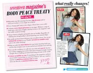 Seventeen Magazine makes an anti-photoshop policy--well, sort of. Get the details here.