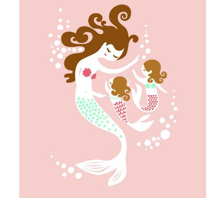 Mama Mermaid and Twins