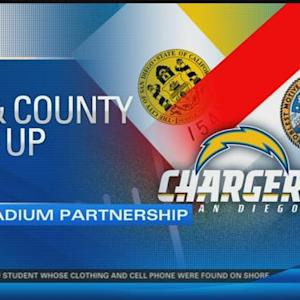 City and county join forces in the effort to attain Chargers stadium