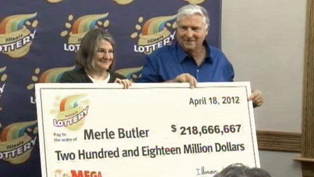 Mega Millions Winners Merle and Patricia Butler Giggled for Four Hours