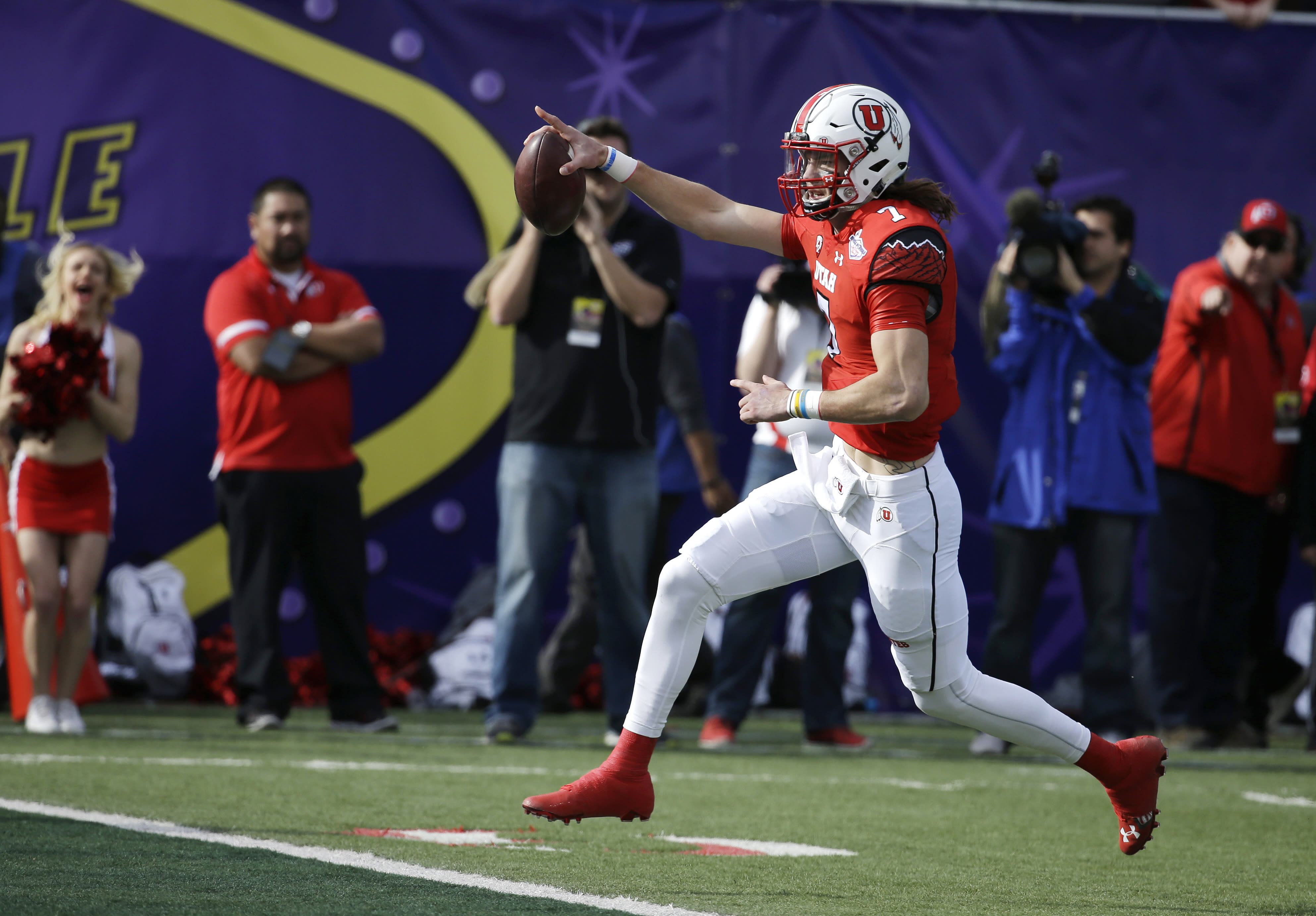 Utah's offense comes alive in 45-10 thrashing of Colorado State