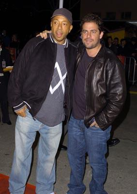 Russell Simmons and Brett Ratner at the LA premiere of Warner Bros.' Starsky & Hutch