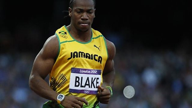 Yohan Blake of Jamaica (Reuters)