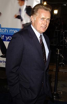 Martin Sheen at the Hollywood premiere of Dreamworks' Catch Me If You Can