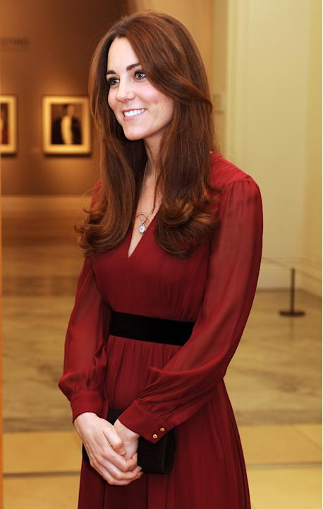 Catherine, Duchess of Cambridge Portrait By Paul Emsley Is Unveiled At The National Portrait Gallery