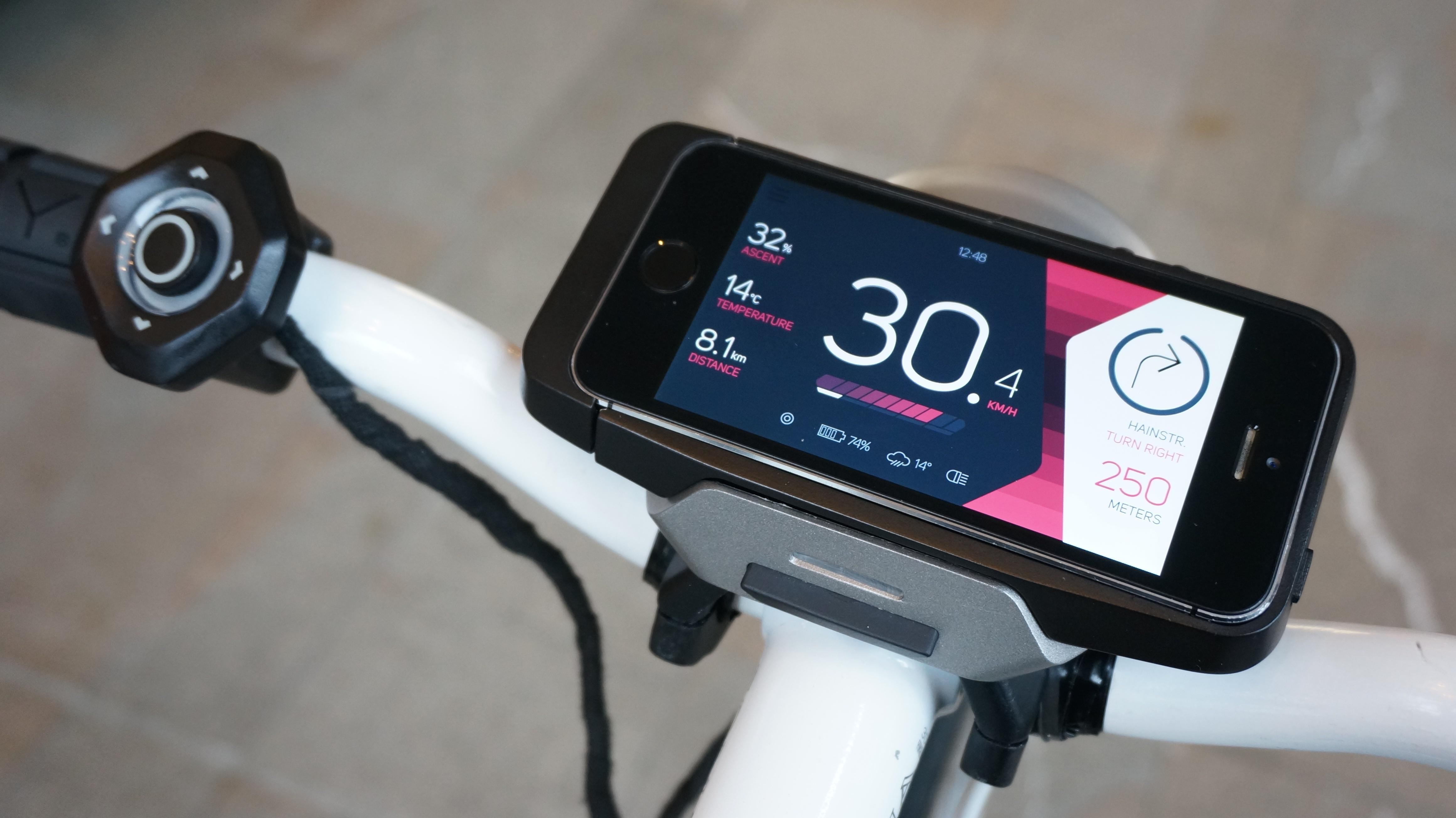 Your bike and your smartphone become one with this Kickstarter connected bike system