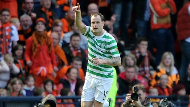 Anthony Stokes of Celtic (PA Photos)