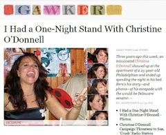 Gawker on Christine O'Donnell