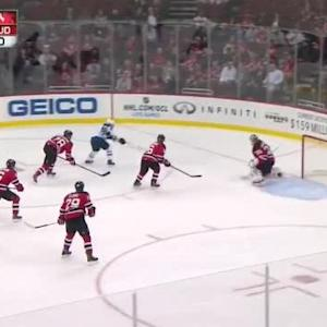 Cory Schneider Save on Mathieu Perreault (09:36/2nd)