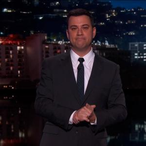 Jimmy Kimmel Cries As He Pays Tribute to David Letterman