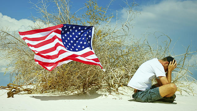 America Becomes a Defeatist Nation
