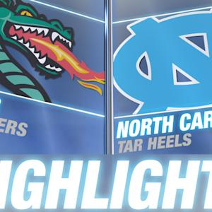 UAB vs North Carolina | 2014-15 ACC Basketball Highlights