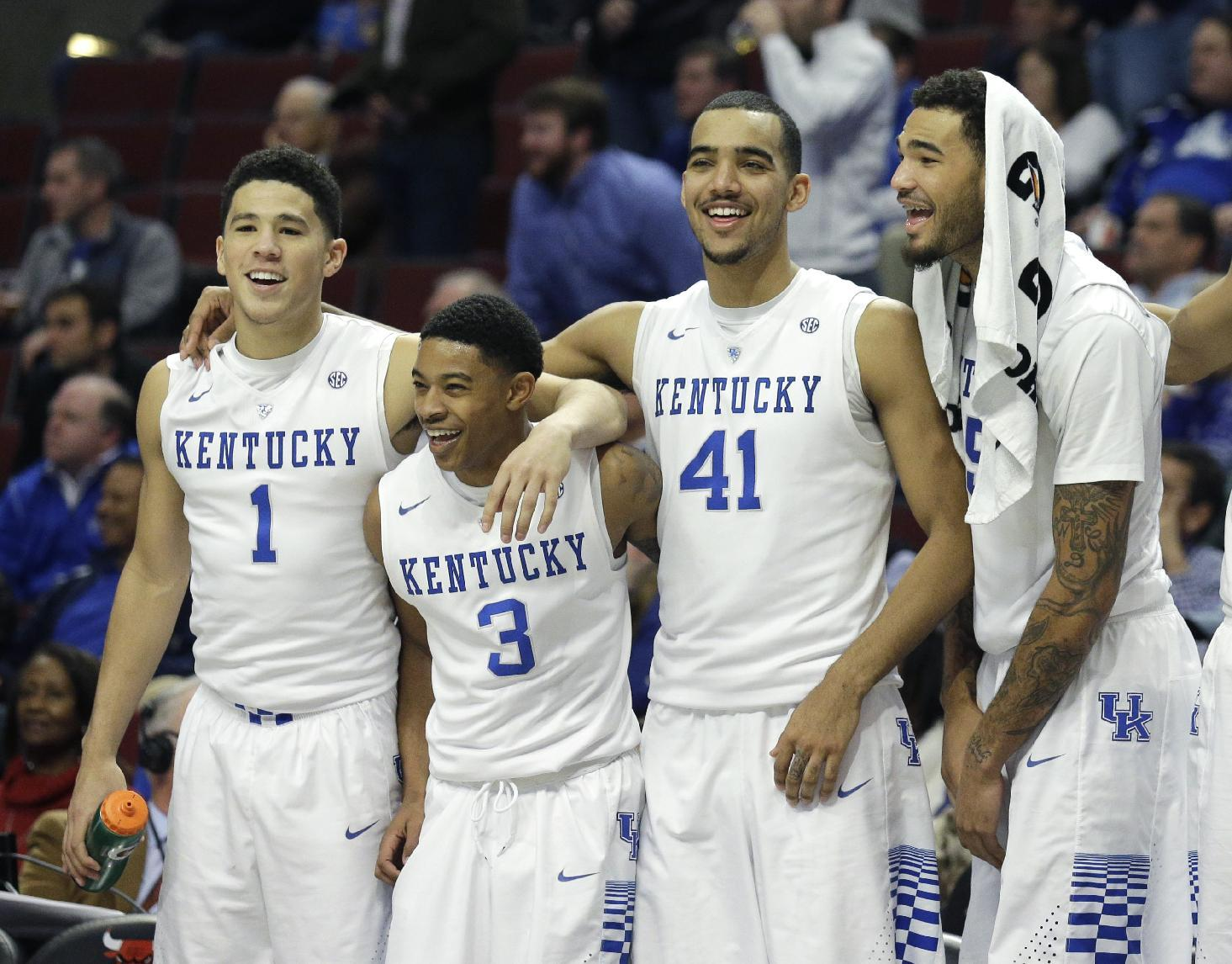 Kentucky unanimous No. 1, Big 12 has 7 ranked
