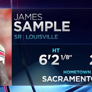 Jacksonville Jaguars pick safety James Sample No. 104 in 2015 NFL Draft