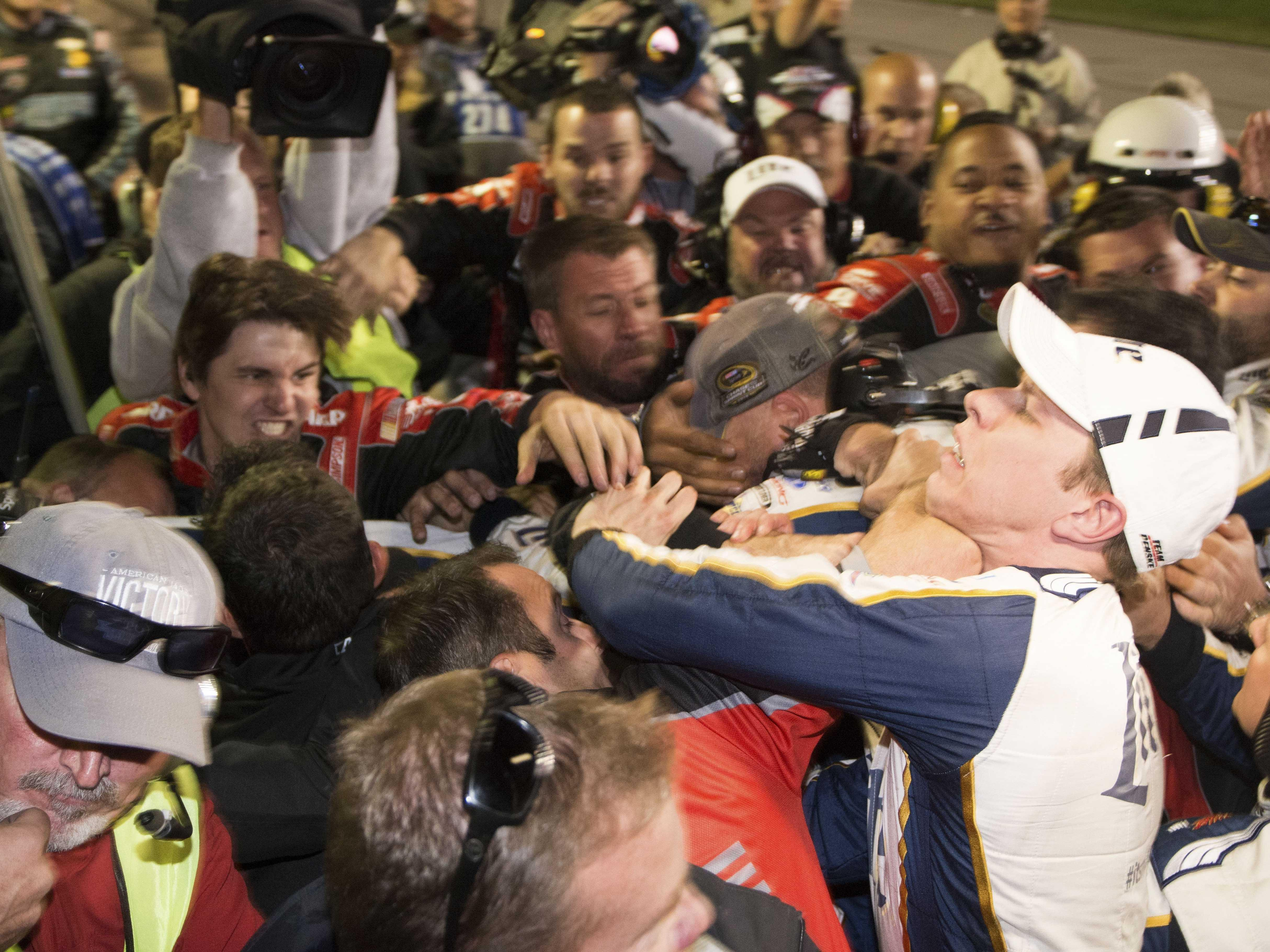 Motorsports Monday: NASCAR wants drivers to stop fighting each other after races
