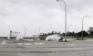 Storm Isaac Reaches Hurricane Strength