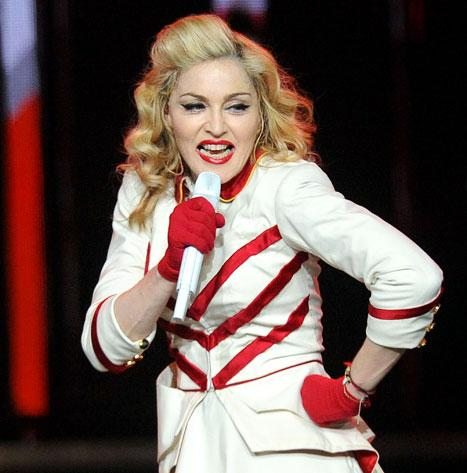 Madonna Threatens to Cancel Concert Over Smoking Fans