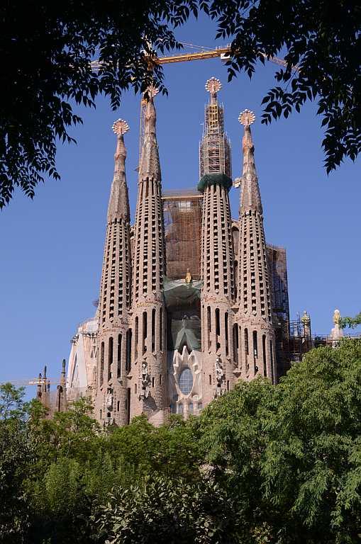 Travel Europe Churches Sagrada Familia