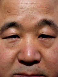 FILE -This is a May 2001 file photo of Chinese writer Mo Yan, taken in Stockholm, Sweden. Mo won the 2012 Nobel Prize for Literature on Thursday Oct. 11, 2012 . (AP Photo / Scanpix Sweden /Peter Lyden, File) SWEDEN OUT