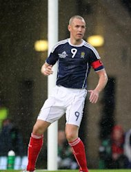 Kenny Miller, pictured, remains Scotland's number one striker according to Peter Houston