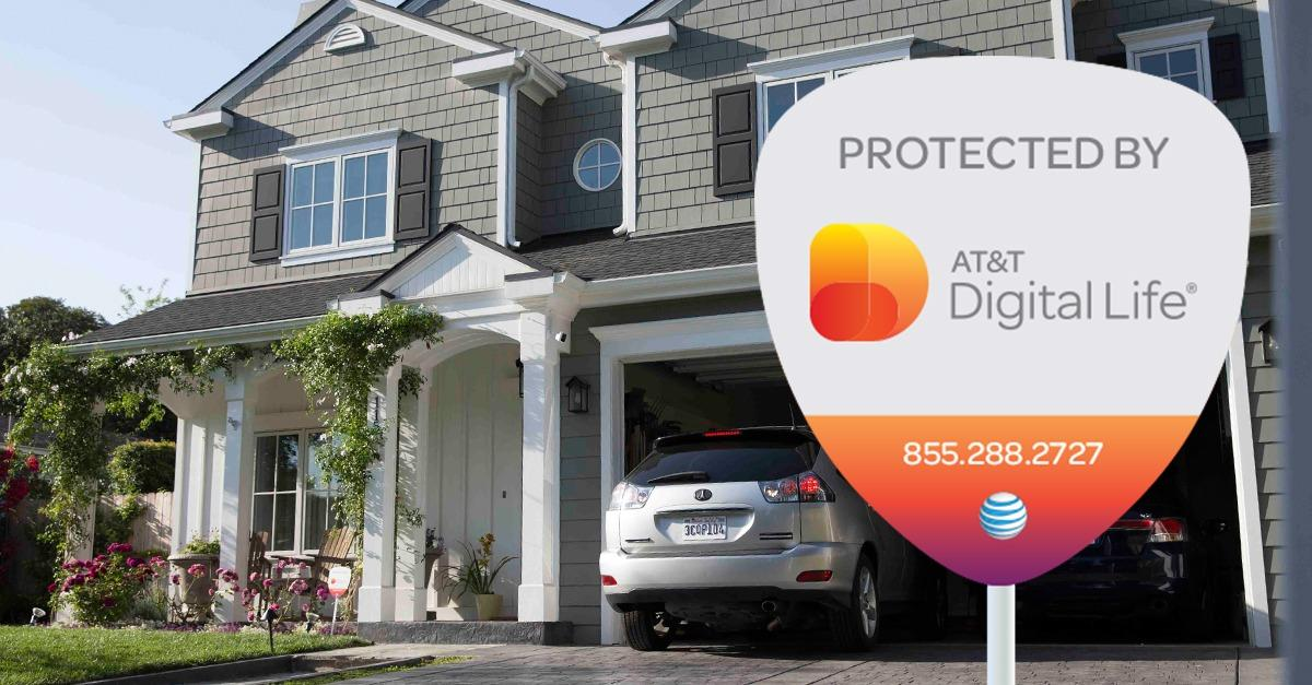 Upgrade to a smarter home with AT&T Digital Life