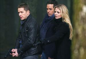 Josh Dallas, Michael Raymond-James and Jennifer Morrison | Photo Credits: Jadk Rowand/ABC
