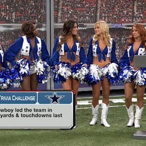Trivia challenge with Dallas Cowboys Cheerleaders