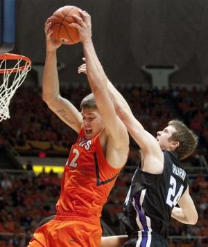 Northwestern holds off Illinois 74-70