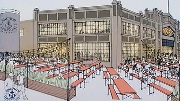Anchor Brewing to open new facility on SF waterfront